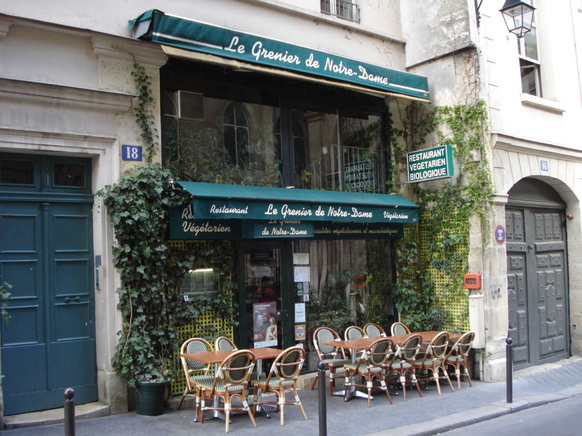 vegetarisches restaurant 5 arr le grenier de notre dame geheimtipps paris. Black Bedroom Furniture Sets. Home Design Ideas